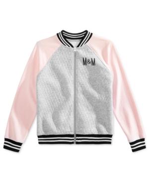 Disney Big Girls M  M FullZip Bomber Jacket