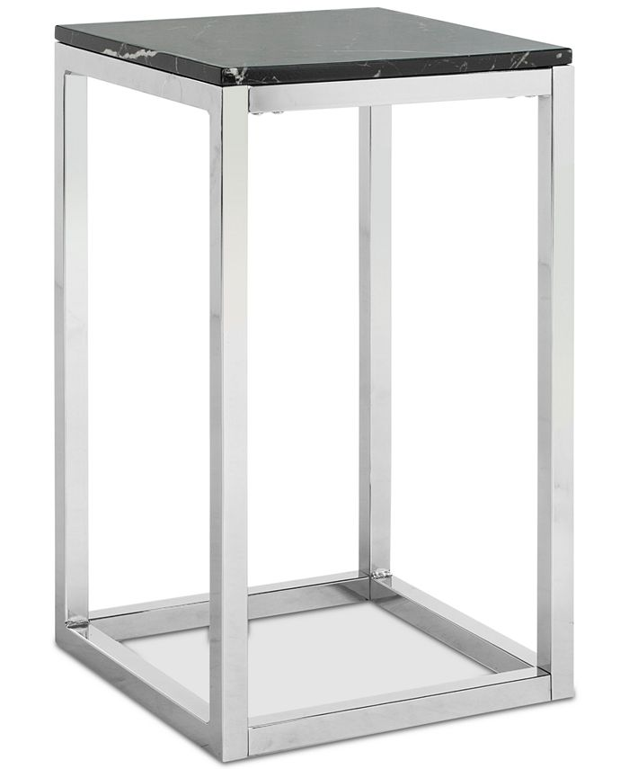 Safavieh - Leah Square Side Table, Quick Ship