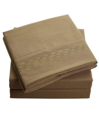 Brushed Microfiber  Bedding - Wrinkle, Fade, Stain Resistant - Hypoallergenic - Queen