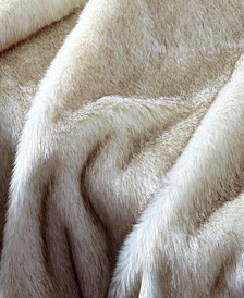 Faux Fur Throw Blanket, Super Soft Fuzzy Light Weight Luxurious