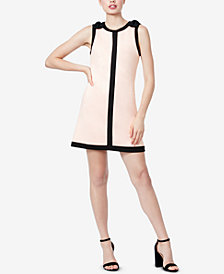 Betsey Johnson Bow-Shoulder Shift Dress