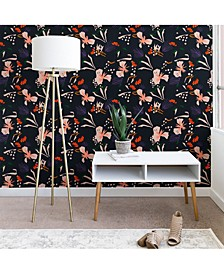 Holli Zollinger Anthology of Pattern Seville Garden Black 2'x4' Wallpaper