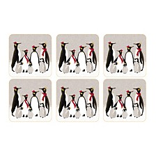 Sara Miller Penguin Set of 6 Coasters
