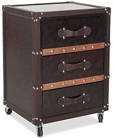 Norman 3-Drawer Rolling Chest, Quick Ship