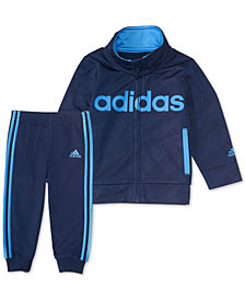 adidas Baby Boys 2-Pc. Full-Zip Jacket & Joggers Set