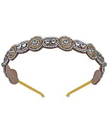 Deepa Two-Tone Beaded Headband