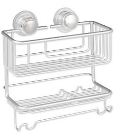 Metro Aluminum Turn-N-Lock 2-Tier Combo Basket
