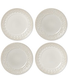Lenox Chelse Muse Tidbit Plates, Set of 4