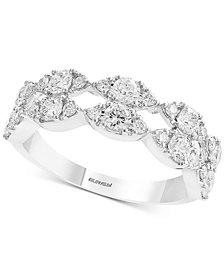 EFFY® Diamond Openwork Ring (1-1/4 ct. t.w.) in 14k White Gold
