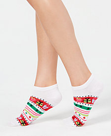 Charter Club Women's Gift Stripe Low-Cut Socks, Created for Macy's