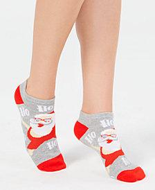 Charter Club Women's Beachy Santa Low-Cut Socks, Created for Macy's