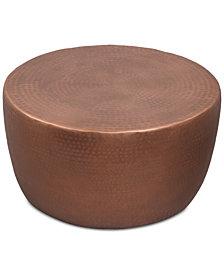 Nova Metal Drum Coffee Table