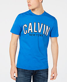 Calvin Klein Jeans Men's Calvin Outlined Big and Tall Logo Graphic T-Shirt