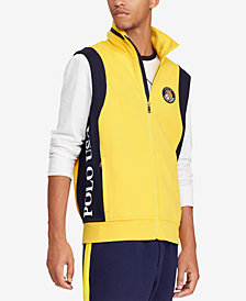 Polo Ralph Lauren Men's Downhill Skier Double-Knit Vest