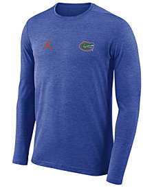 Nike Men's Florida Gators Long Sleeve Dri-FIT Coaches T-Shirt