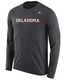Nike Men's Oklahoma Sooners Legend Sideline Long Sleeve T-Shirt 2018