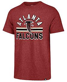 '47 Brand Men's Atlanta Falcons Team Stripe Match Tri-Blend T-Shirt