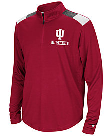 Colosseum Indiana Hoosiers 99 Yards Quarter-Zip Pullover, Big Boys (8-20)