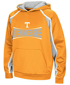 Colosseum Tennessee Volunteers Poly Pullover Hoodie, Big Boys (8-20)