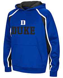 Colosseum Duke Blue Devils Poly Pullover Hoodie, Big Boys (8-20)