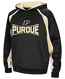 Colosseum Purdue Boilermakers Poly Pullover Hoodie, Big Boys (8-20)