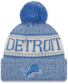 New Era Detroit Lions Sport Knit Hat