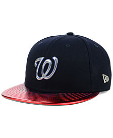 New Era Washington Nationals Topps 9FIFTY Snapback Cap
