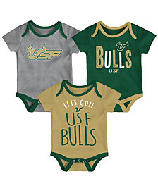 Outerstuff South Florida Bulls Lil Tailgater 3 Piece Set, Infants (0-9 Months)