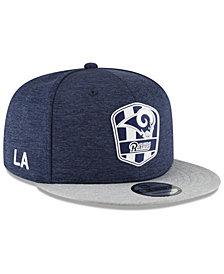 New Era Boys' Los Angeles Rams Sideline Road 9FIFTY Cap