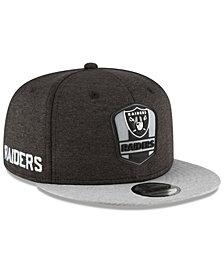 New Era Boys' Oakland Raiders Sideline Road 9FIFTY Cap