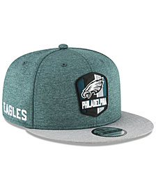 New Era Boys' Philadelphia Eagles Sideline Road 9FIFTY Cap