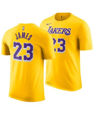 separation shoes e1a23 54892 LeBron James Los Angeles Lakers Icon Name & Number T-Shirt, Big Boys (8-20)