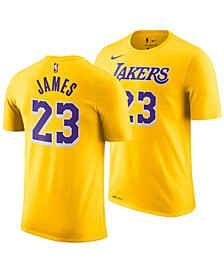 LeBron James Los Angeles Lakers Icon Name & Number T-Shirt, Big Boys (8-20)