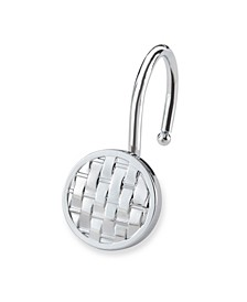 Shower Hooks - Woven - Chrome Finish