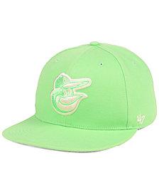 '47 Brand Baltimore Orioles Island Snapback Cap