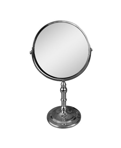Elegant Home Fashions Freestanding Bath Magnifying Makeup Mirror