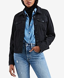 Women's Original Denim Trucker Jacket, Created for Macy's