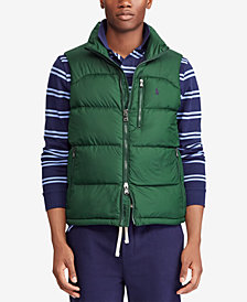 Polo Ralph Lauren Men's Water-Repellent Down Vest