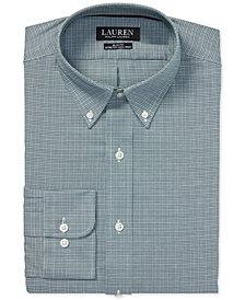 Lauren Ralph Lauren Men's Slim Fit Estate Plaid Dress Shirt