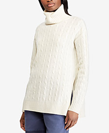 Polo Ralph Lauren Cable Turtleneck Sweater