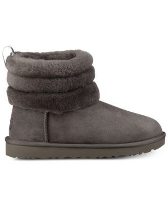 ugg women s fluff mini quilted boots boots shoes macy s rh macys com