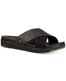 UGG® Women's Kari Glitter Slide Sandals