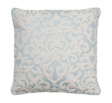 Beautyrest Arlee Velvet Applique and Embroidered Decorative Pillow