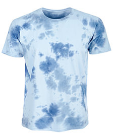 American Rag Men's Ocean Blues Tie-Dyed T-Shirt, Created for Macy's