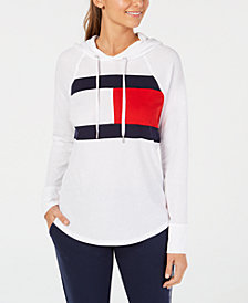 Tommy Hilfiger Sport Logo Hooded Sweatshirt, Created for Macy's