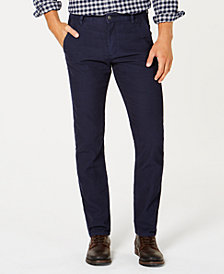 Dockers Men's Slim Tapered Fit Alpha Khaki Corduroy Stretch Pants