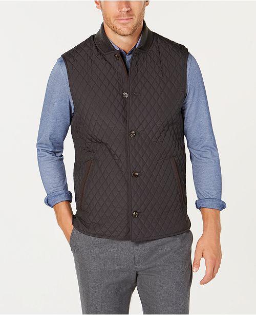 d9bde09bee5 ... Tasso Elba Men s Renzo Quilted Vest