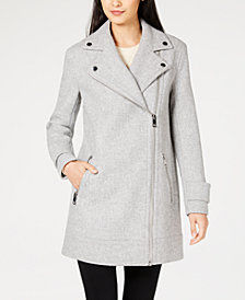 MICHAEL Michael Kors Asymmetrical Coat