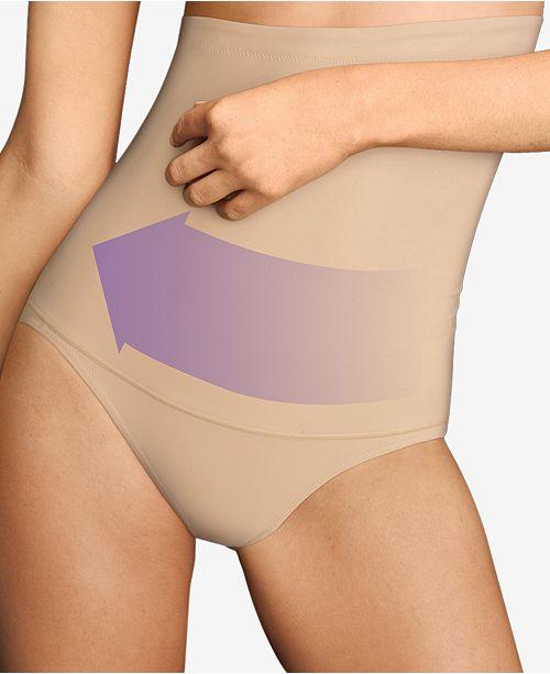 2dfe42537b2d4 Maidenform Women s Firm Control Fat Free Dressing High Waist Shaping Brief  ...