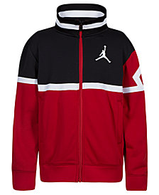 Jordan Big Boys Diamond Tricot Jacket